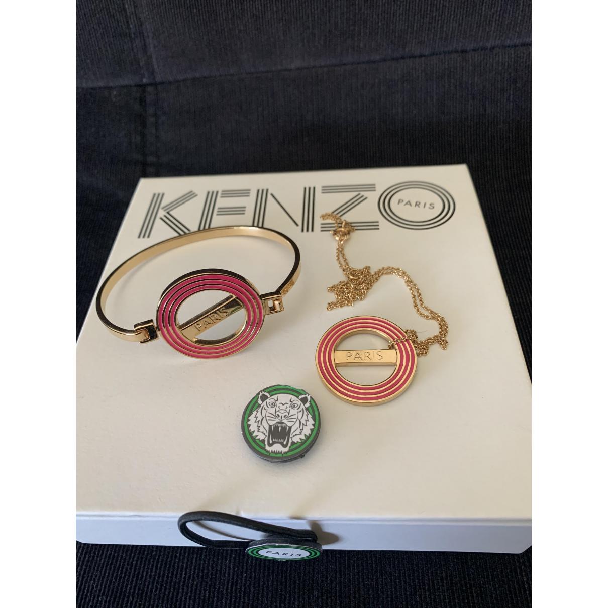 Kenzo \N Schmuck-set in  Gold Metall