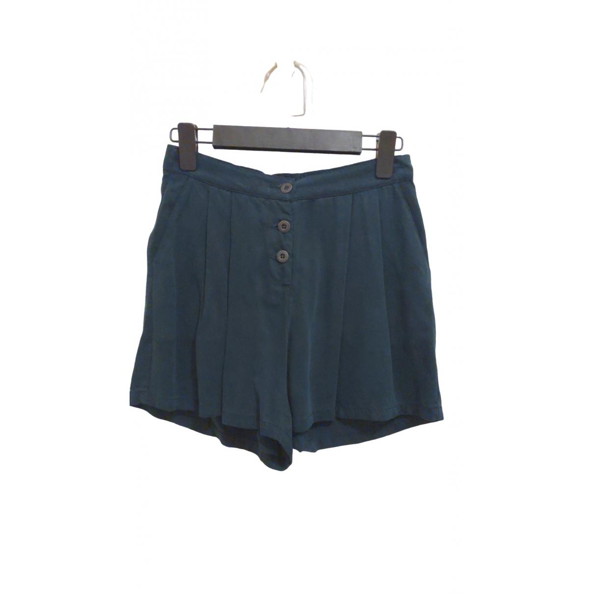American Vintage \N Shorts in  Gruen Polyester