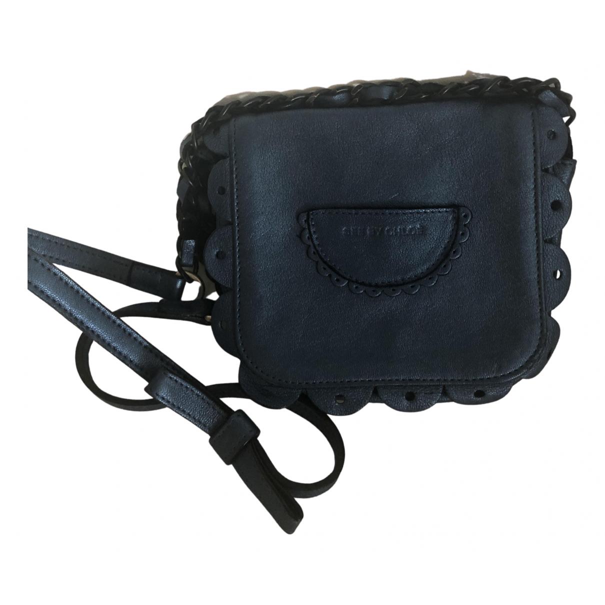 See By Chloe \N Handtasche in  Metallic Leder