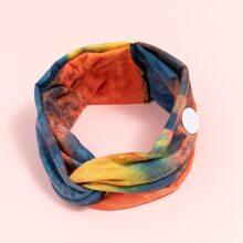 Stirnband mit Batik