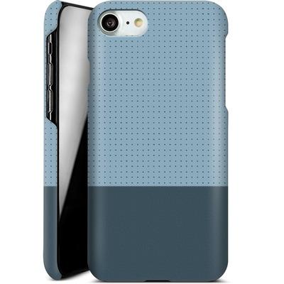 Apple iPhone 7 Smartphone Huelle - Dot Grid Blue von caseable Designs