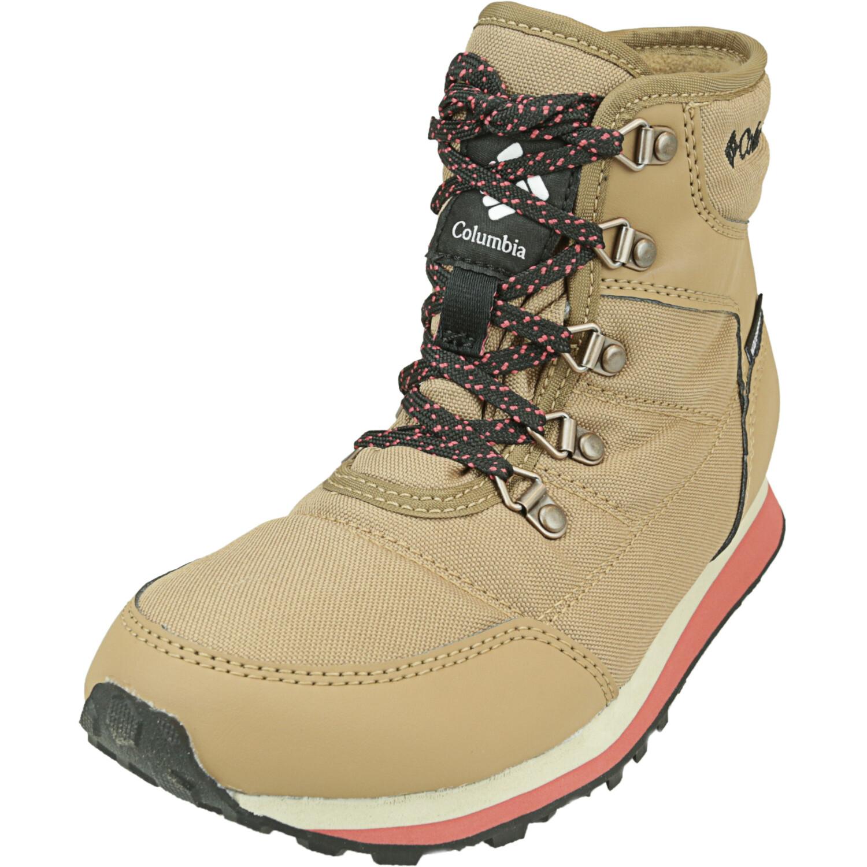 Columbia Women's Wheatleigh Shorty Elk / Daredevil High-Top Snow Boot - 5M