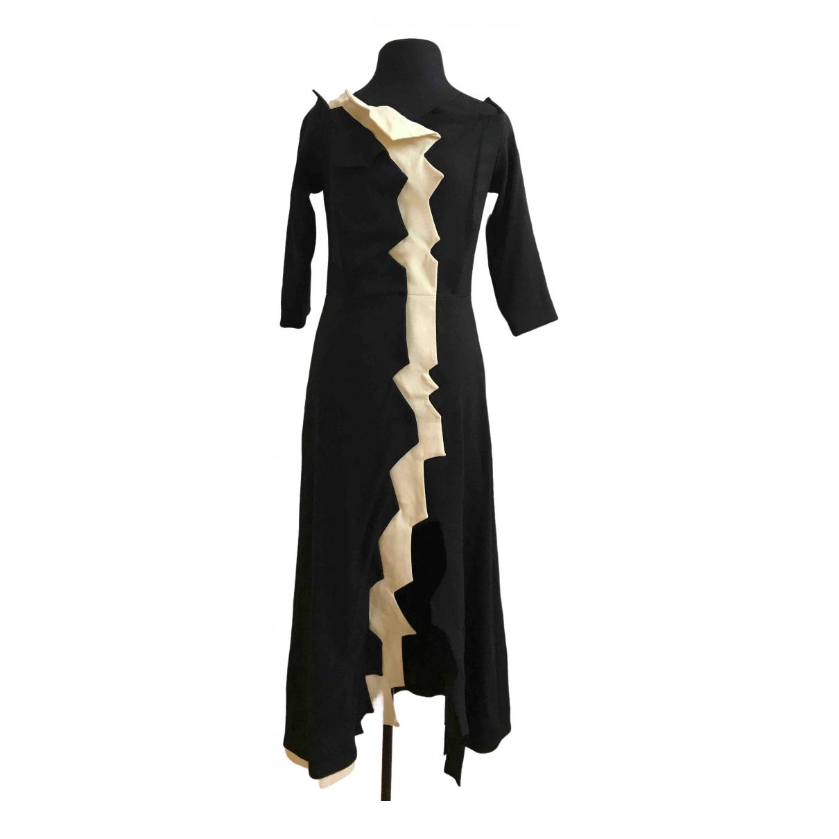 Tata Naka \N Kleid in  Schwarz Wolle