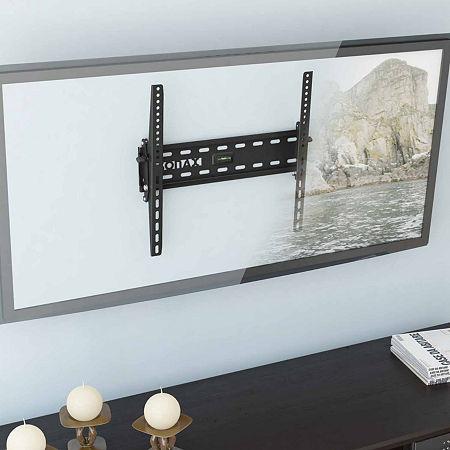 Tilting Flat-Panel TV Wall Mount, One Size , Black