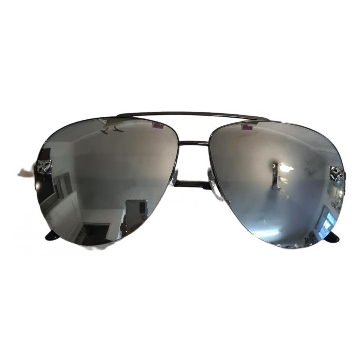 Cartier \N Silver Metal Sunglasses for Men \N