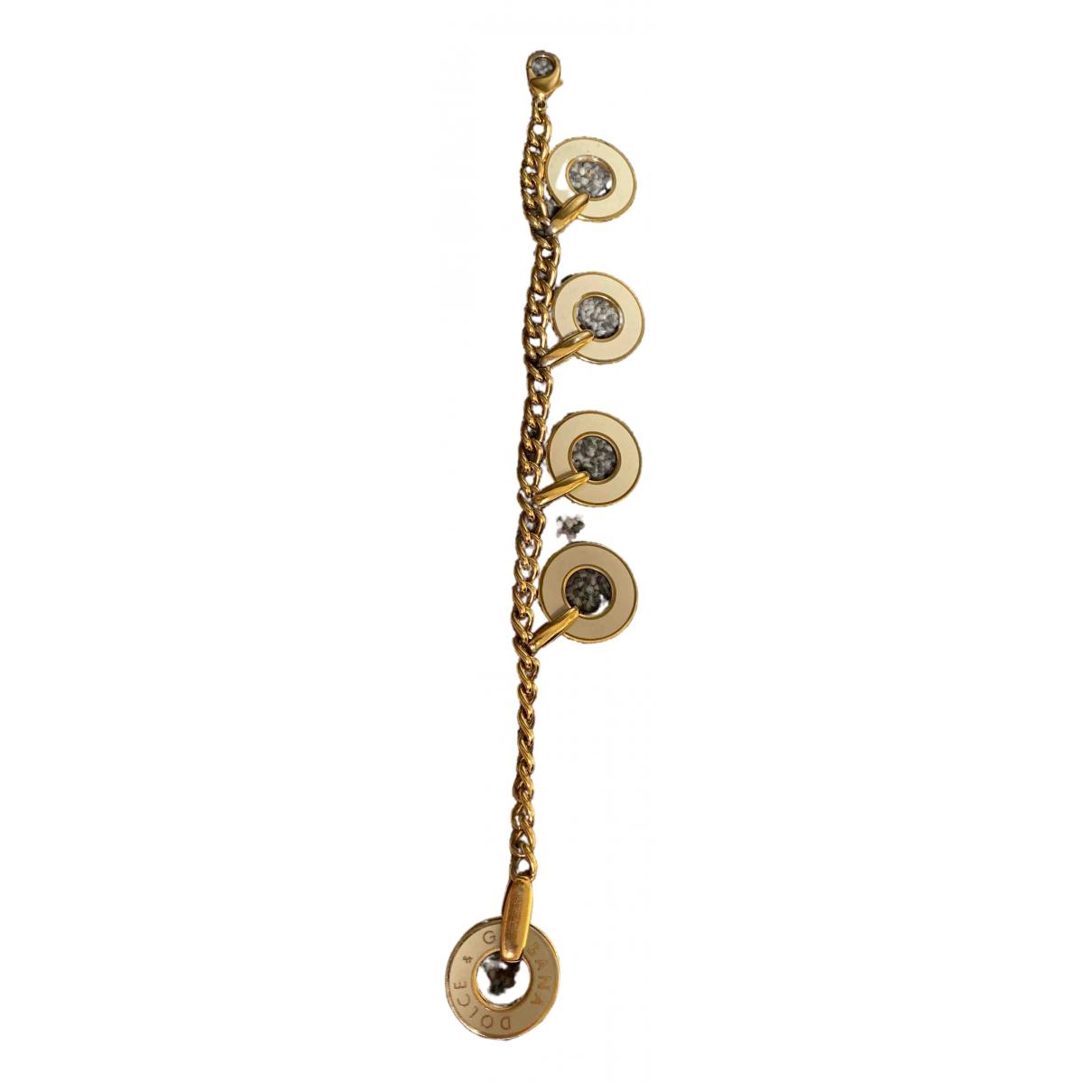 Dolce & Gabbana - Bracelet   pour femme en chaine - dore