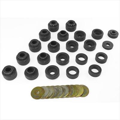 Prothane Motion Control Body Mount Kit (Black) - 1-105-BL