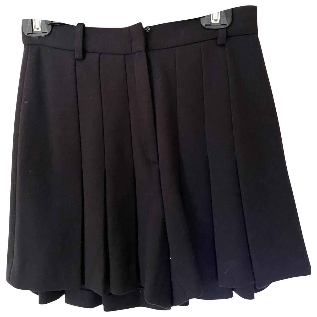 Stella Mccartney \N Blue Wool Shorts for Women 38 IT