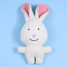 Rabbit Shaped Dog Chew Toy