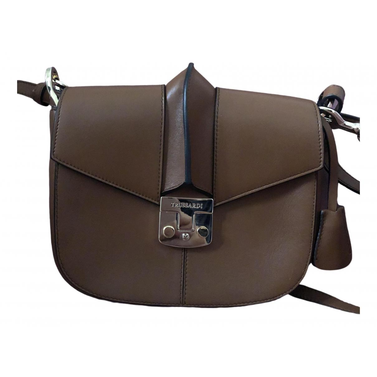 Trussardi \N Camel Leather handbag for Women \N
