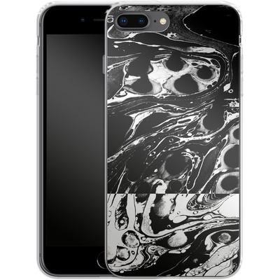 Apple iPhone 8 Plus Silikon Handyhuelle - Marble Reverse von Amy Sia