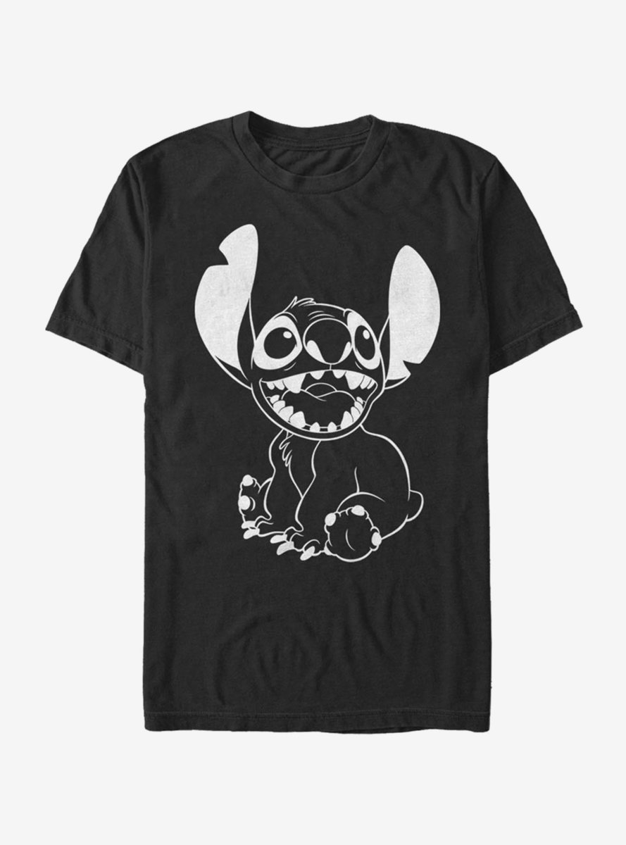 Disney Lilo And Stitch Negative Stitch T-Shirt