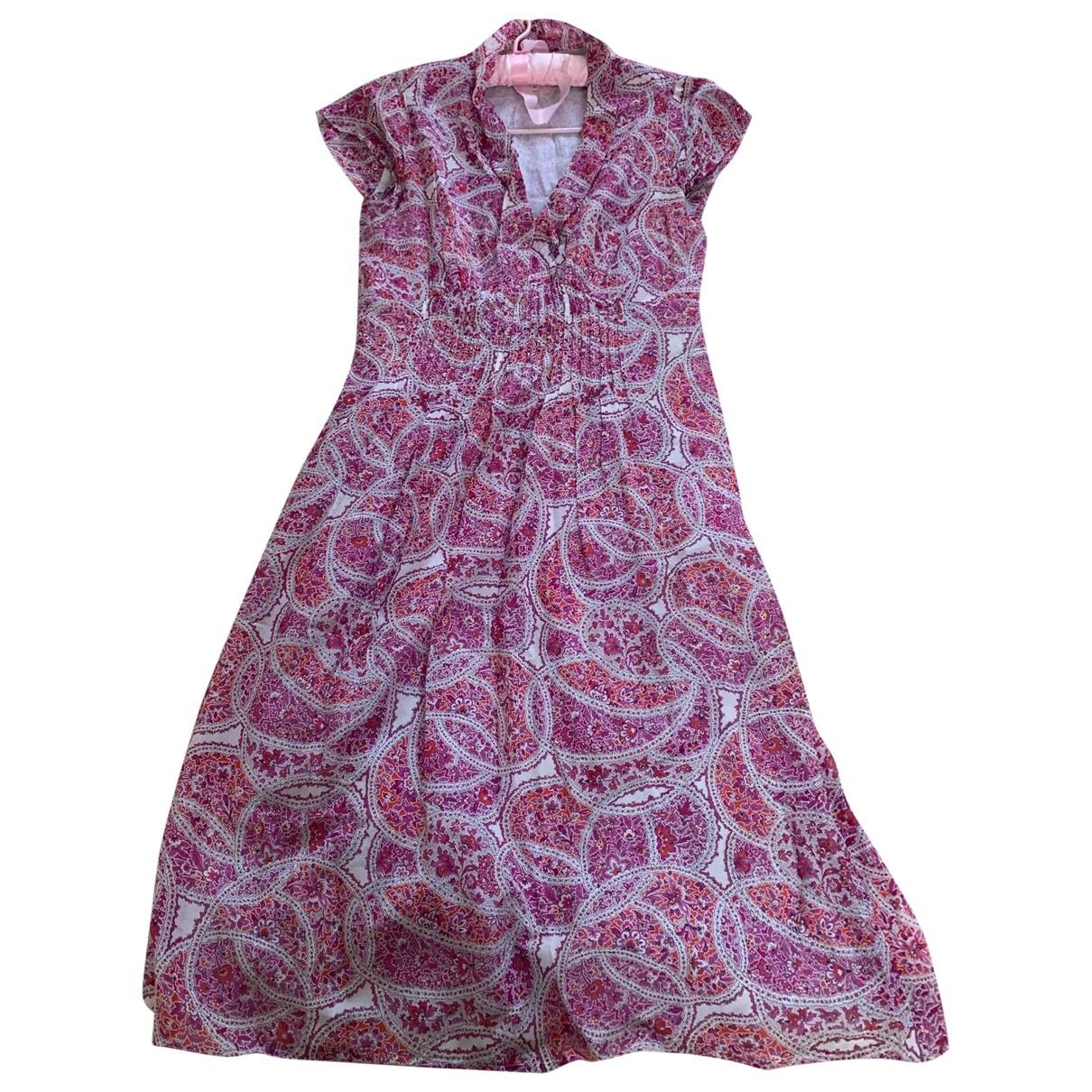 Brora \N Kleid in  Rosa Baumwolle