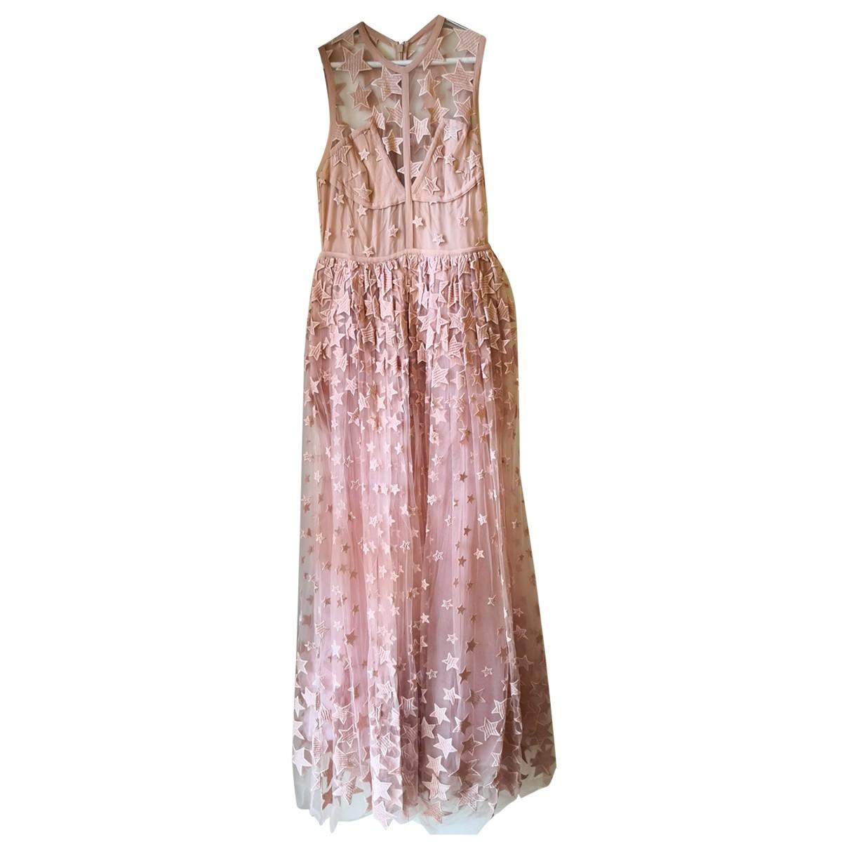 Elie Saab \N Kleid in  Rosa Polyester