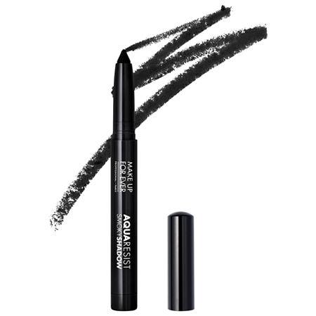 MAKE UP FOR EVER Aqua Resist Smoky Eyeshadow Stick, One Size , Black