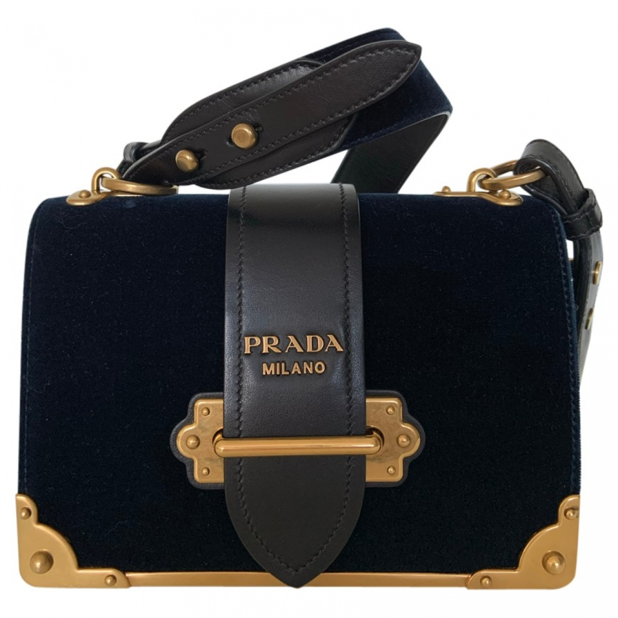 Prada Cahier Velvet handbag for Women \N
