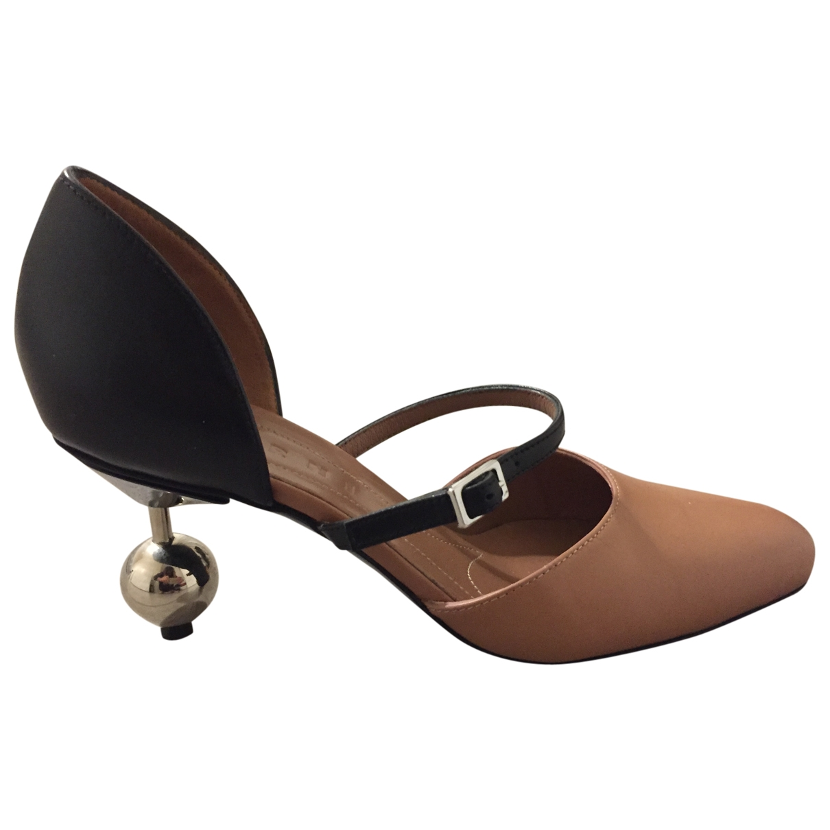 Sandalias de Cuero Marni