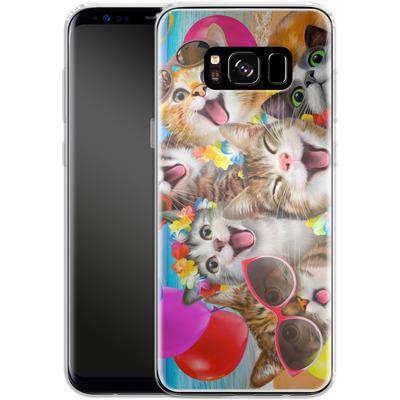 Samsung Galaxy S8 Silikon Handyhuelle - Selfie Luau von Howard Robinson