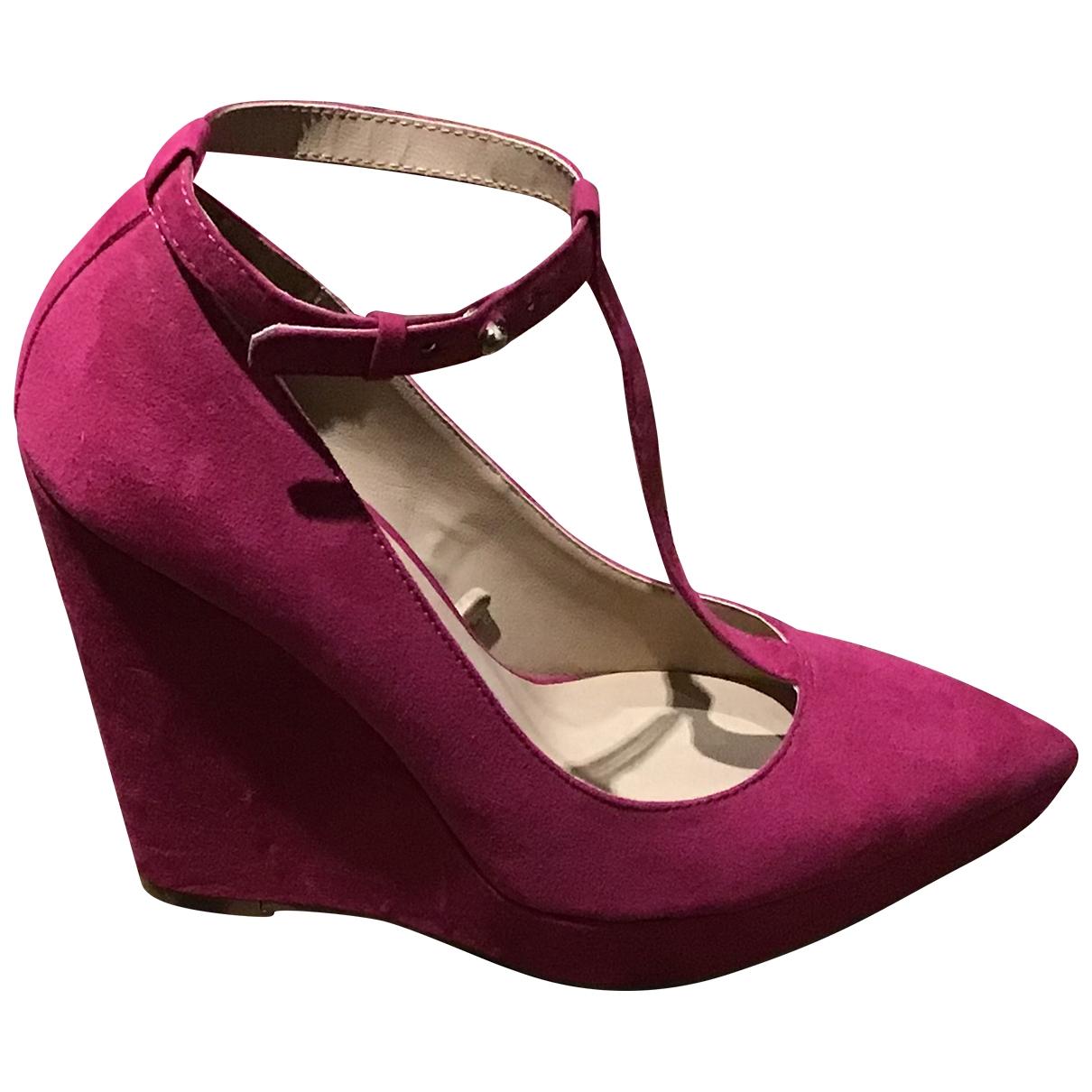 Zara - Escarpins   pour femme en toile - rose