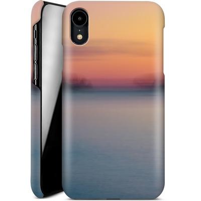 Apple iPhone XR Smartphone Huelle - Sea Sunset Abstract 2 von Joy StClaire