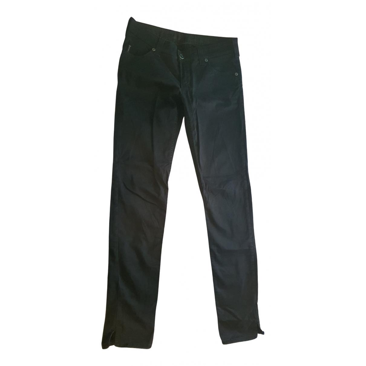 Armani Jean - Pantalon   pour femme en coton - noir