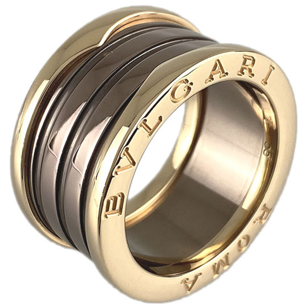 Bvlgari - Bague B.Zero1 pour femme en or jaune - dore