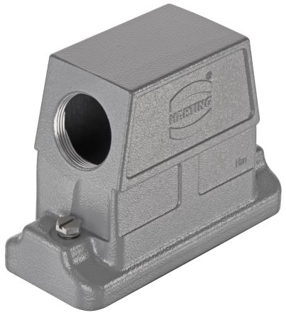 HARTING Han HP Direct B Series Hood Thread Size 1.5 x M20 (Cable Gland), For Use With Han B Inserts