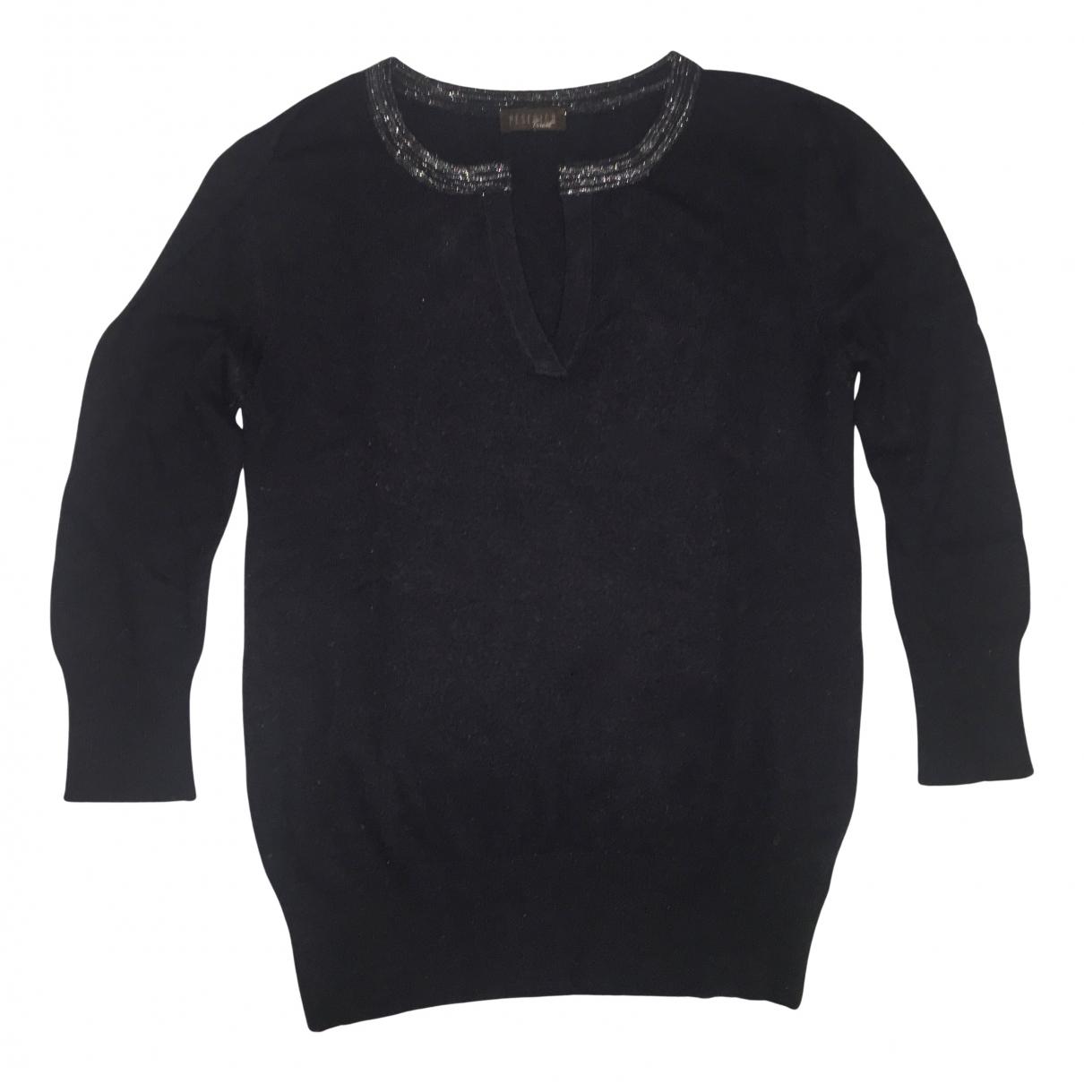 Peserico - Pull   pour femme en laine - bleu
