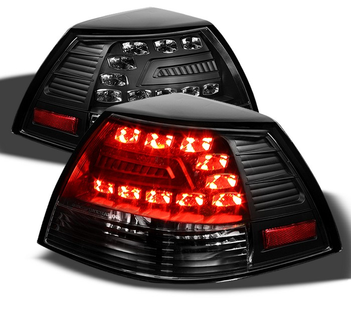 Spyder LED Black Tail Lights Pontiac G8 08-09
