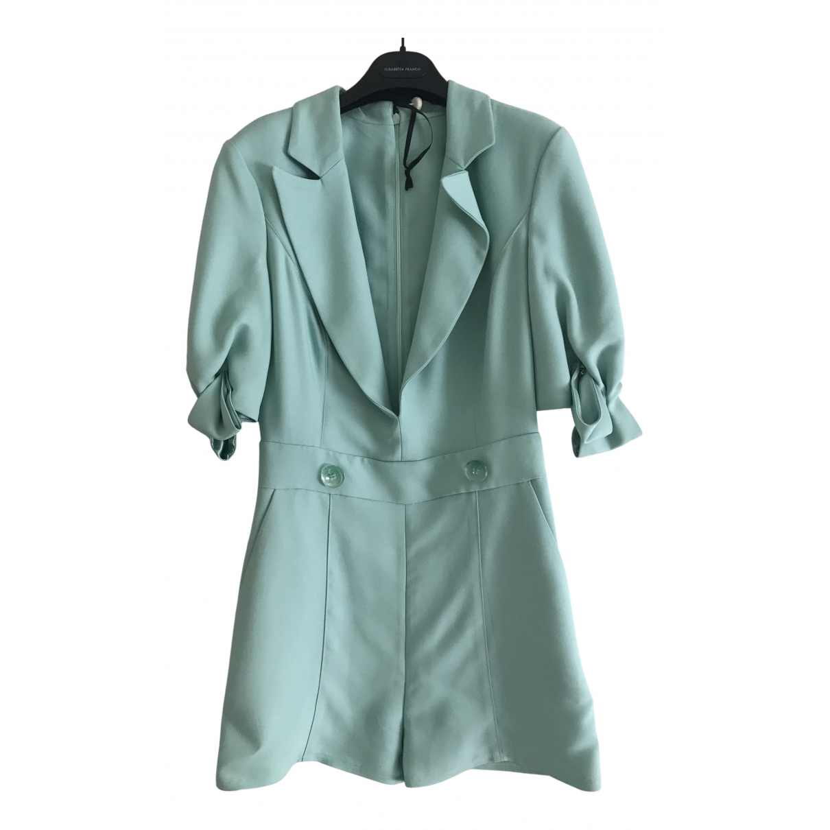 Elisabetta Franchi - Combinaison   pour femme - turquoise
