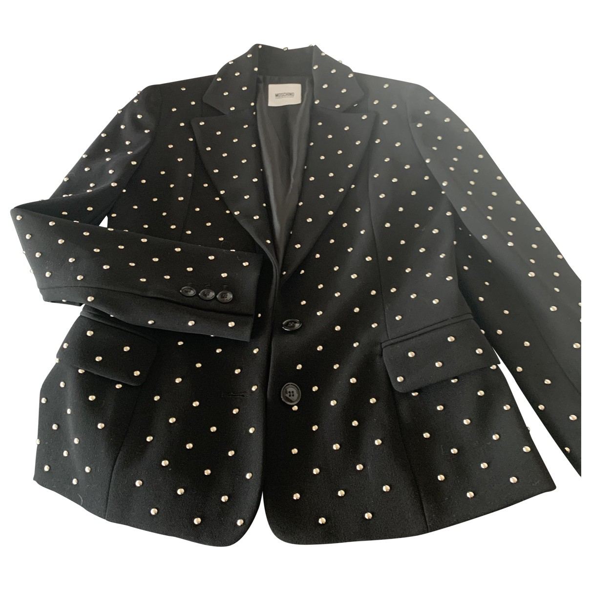 Moschino Cheap And Chic \N Black Wool jacket for Women 40 IT