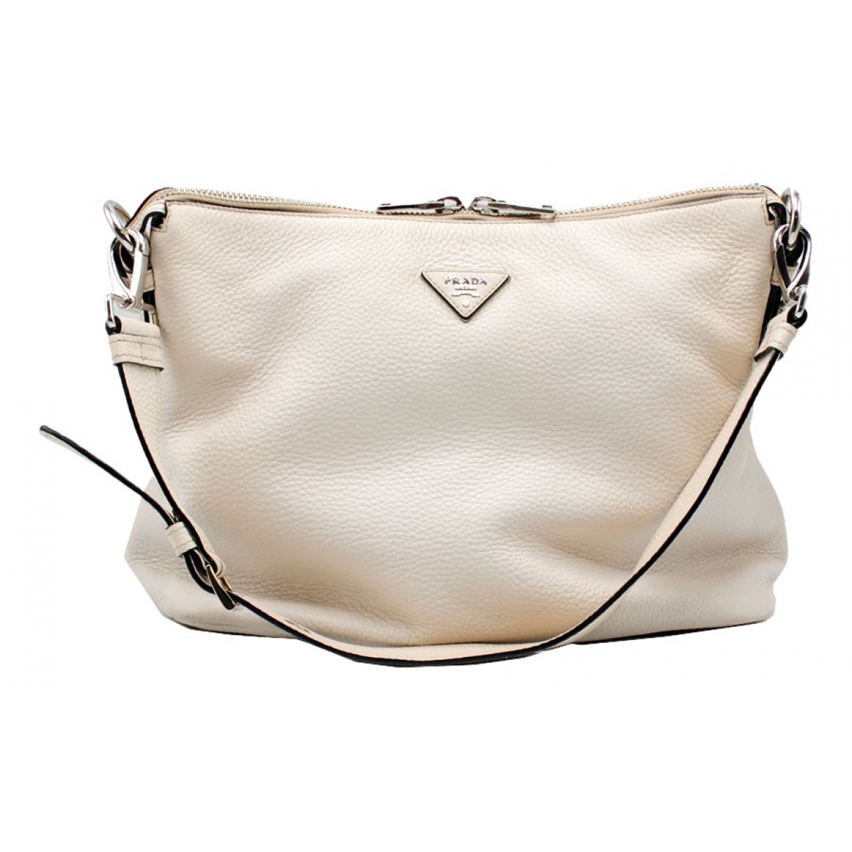 Prada N White Leather handbag for Women N