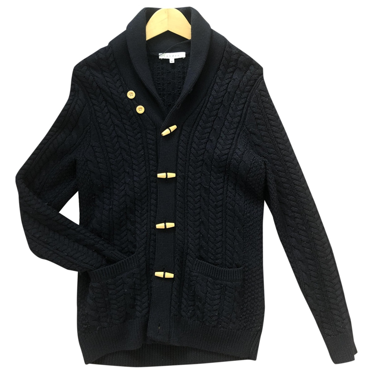 Sandro \N Pullover.Westen.Sweatshirts  in  Blau Wolle