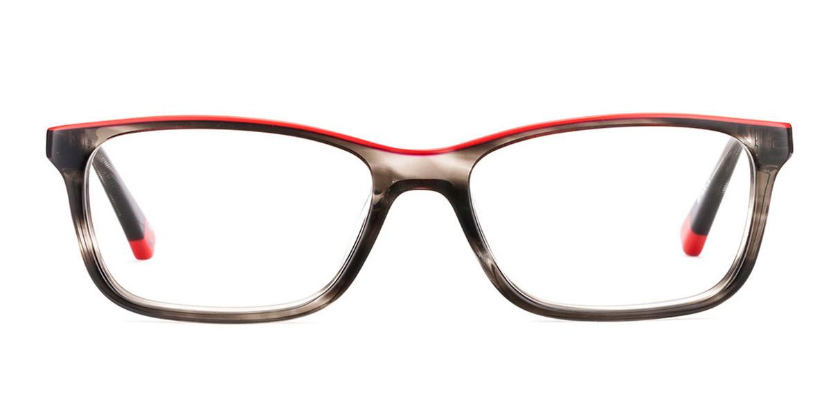 Etnia Barcelona Finn BKRD Kids' Glasses Grey Size 50 - Free Lenses - HSA/FSA Insurance - Blue Light Block Available