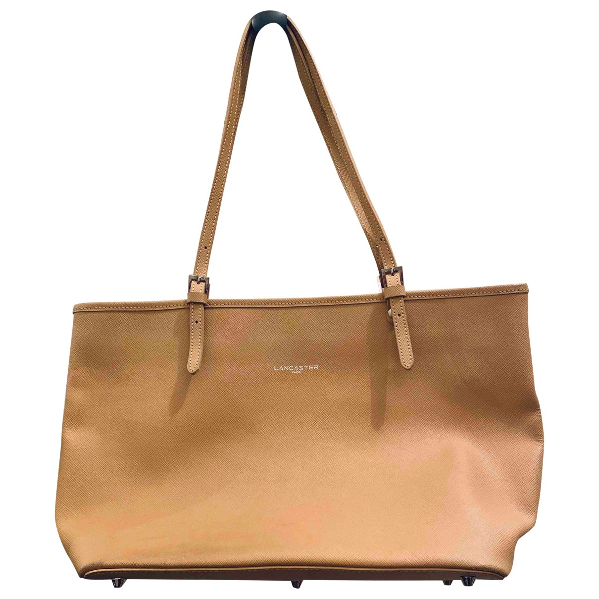 Lancaster \N Camel Pony-style calfskin handbag for Women \N