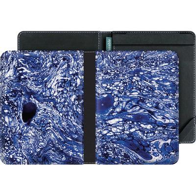 tolino vision 4 HD eBook Reader Huelle - Marbled Blue von Amy Sia