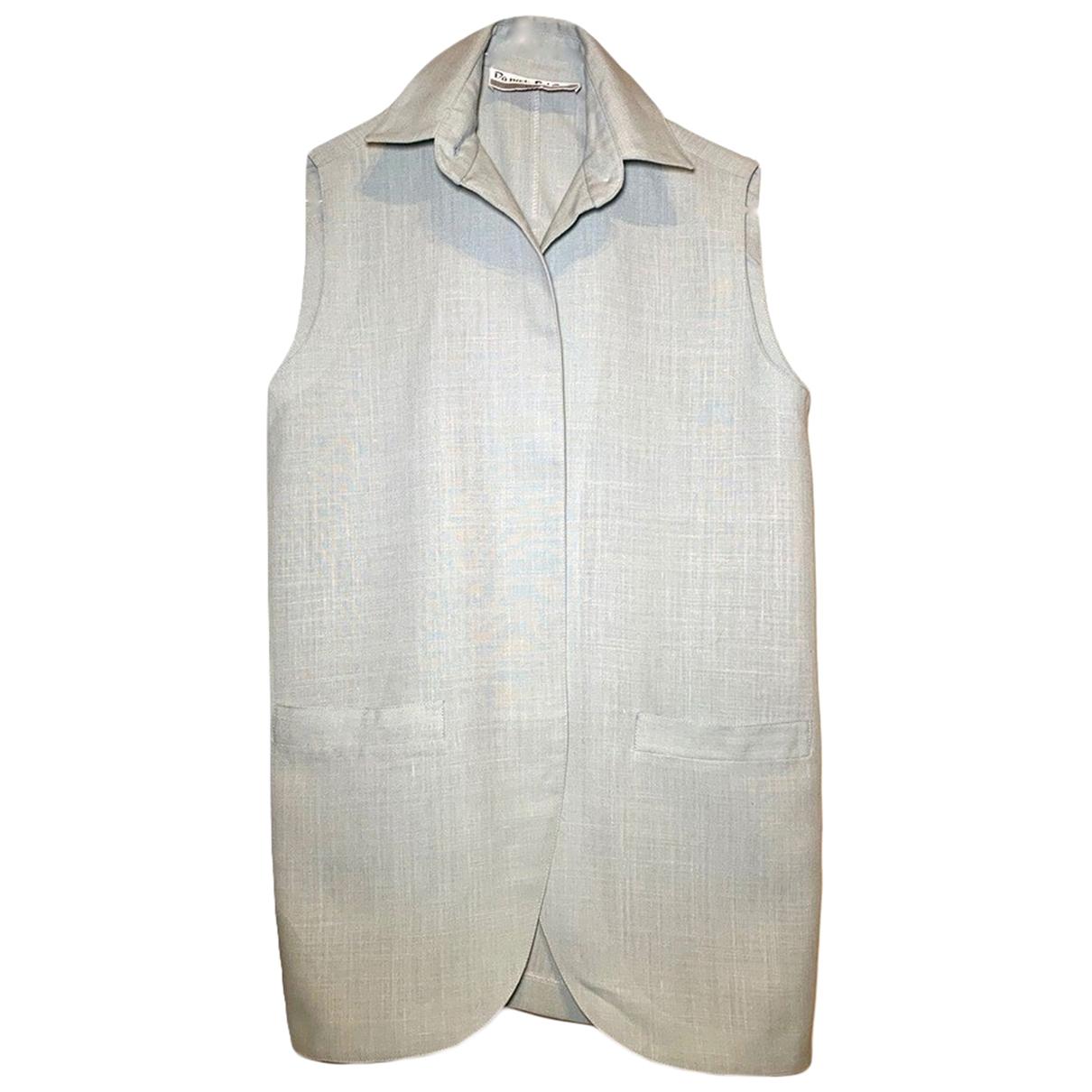 Non Signé / Unsigned \N Linen jacket for Women M International