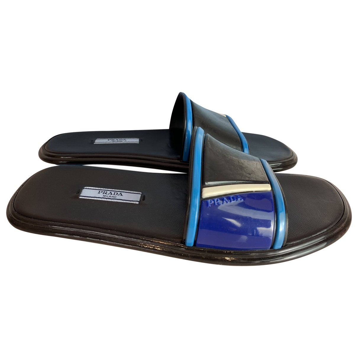 Prada \N Blue Rubber Sandals for Women 38.5 EU