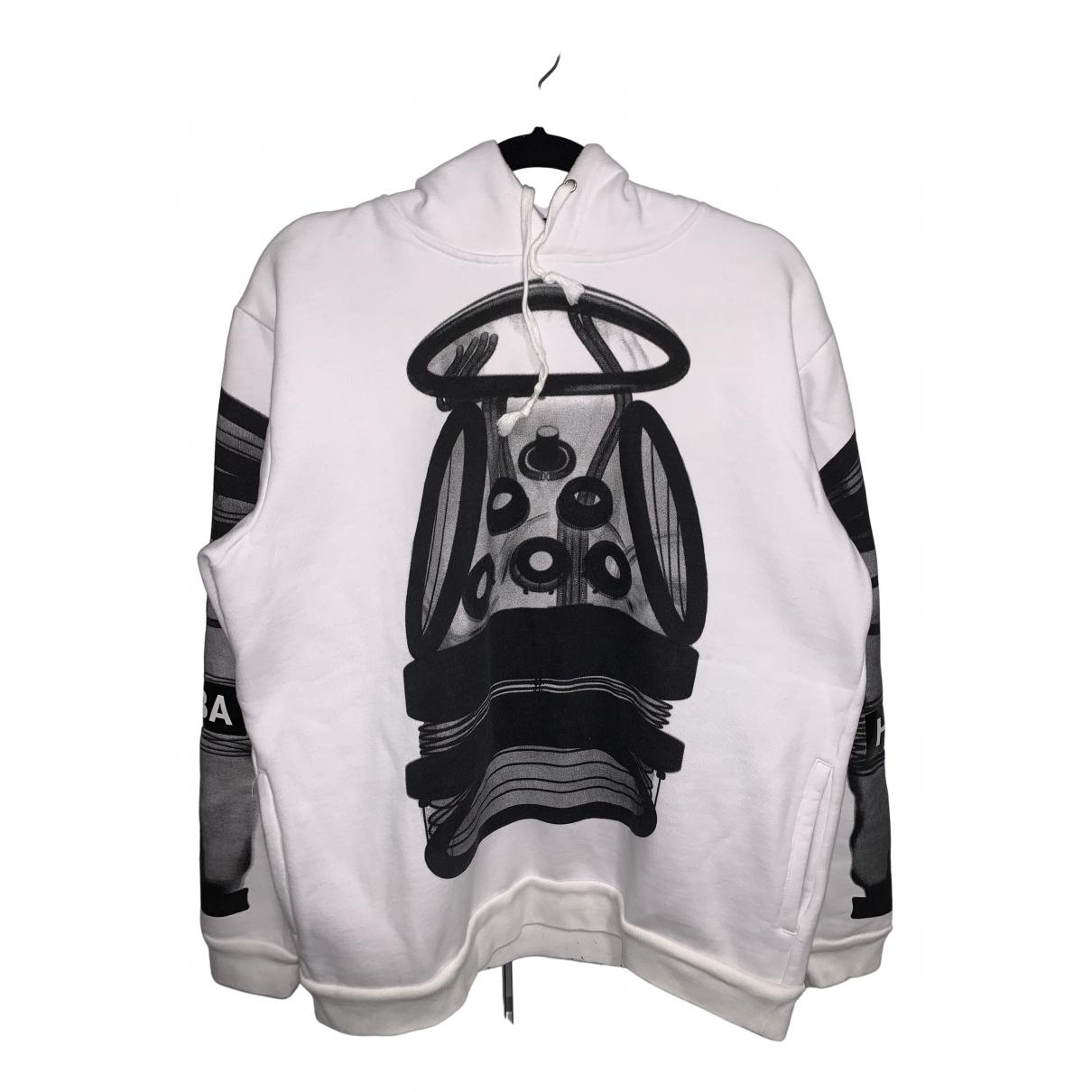 Hba \N Pullover.Westen.Sweatshirts  in  Weiss Baumwolle