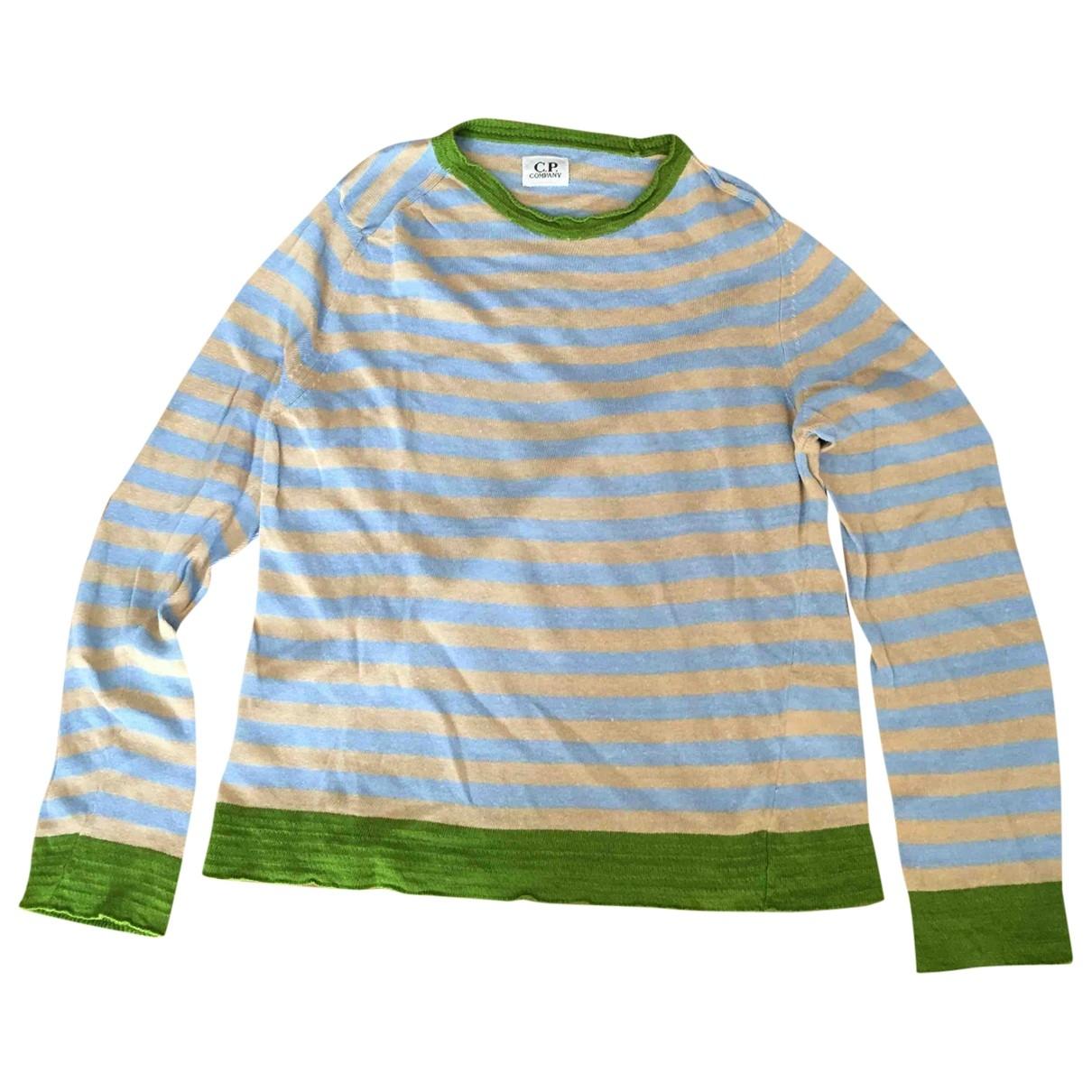 Cp Company - Pull   pour femme en lin - multicolore