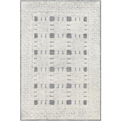 Louvre LOU-2302 4' x 6' Rectangle Traditional Rug in Denim