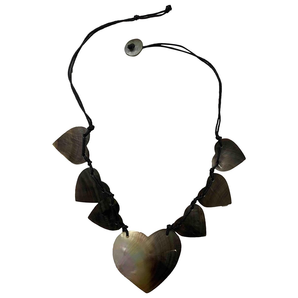 - Collier Motifs Coeurs pour femme en metal - multicolore