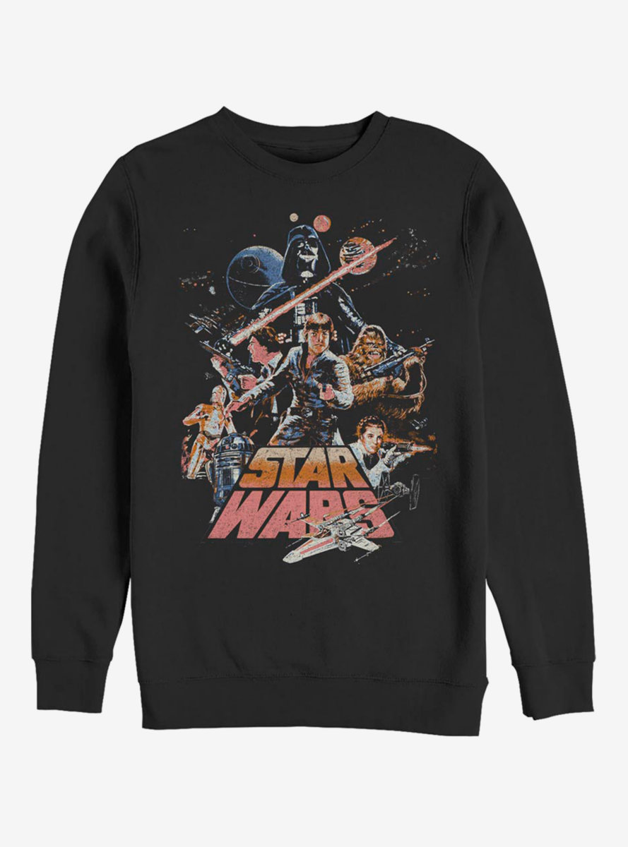 Star Wars Stand And Fight Sweatshirt