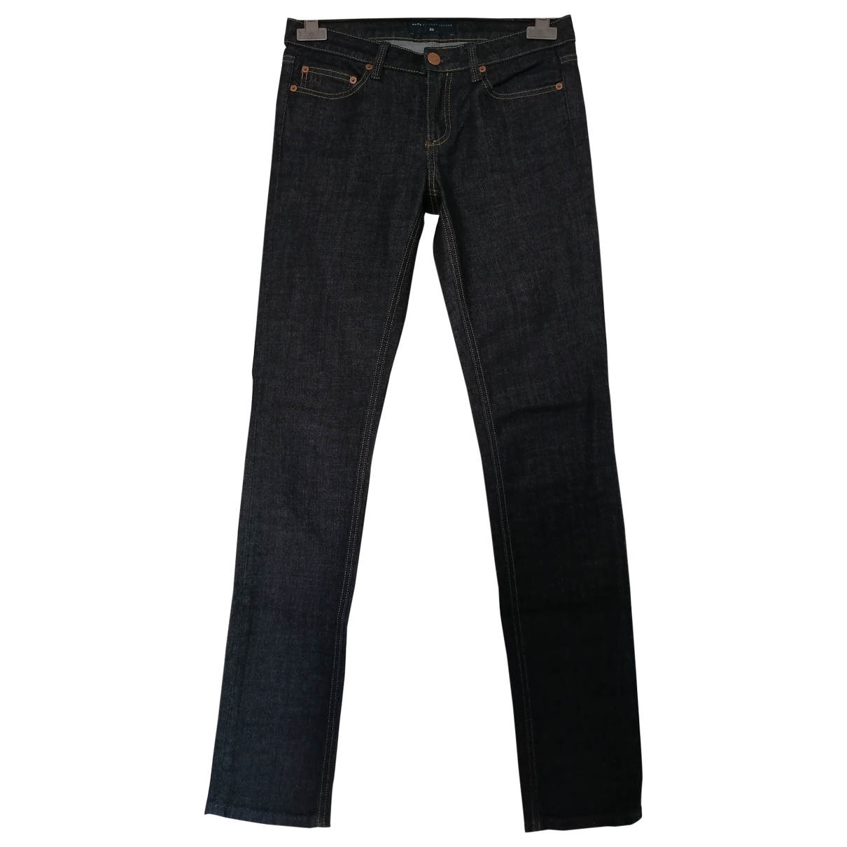 Marc By Marc Jacobs \N Blue Cotton - elasthane Jeans for Women 29 US