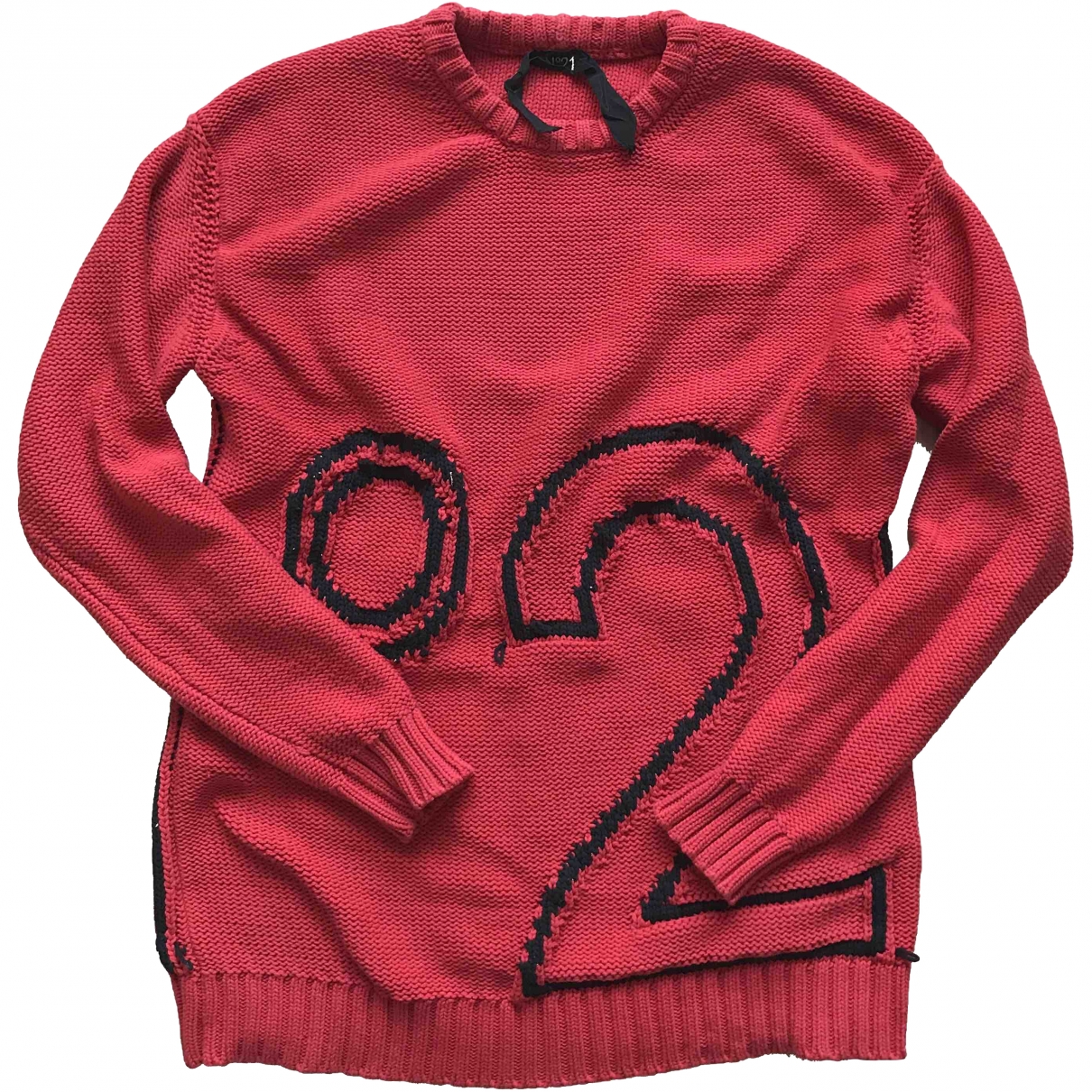 N°21 \N Pullover.Westen.Sweatshirts  in  Rot Wolle