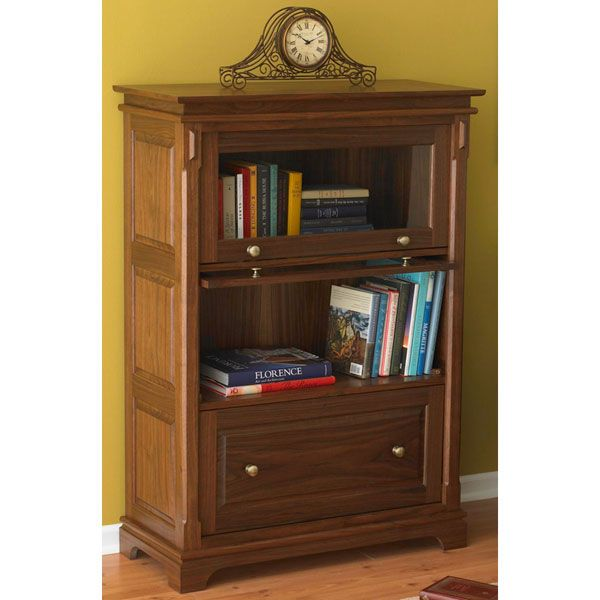 Woodworking Project Paper Plan to Build Barristers Bookcase