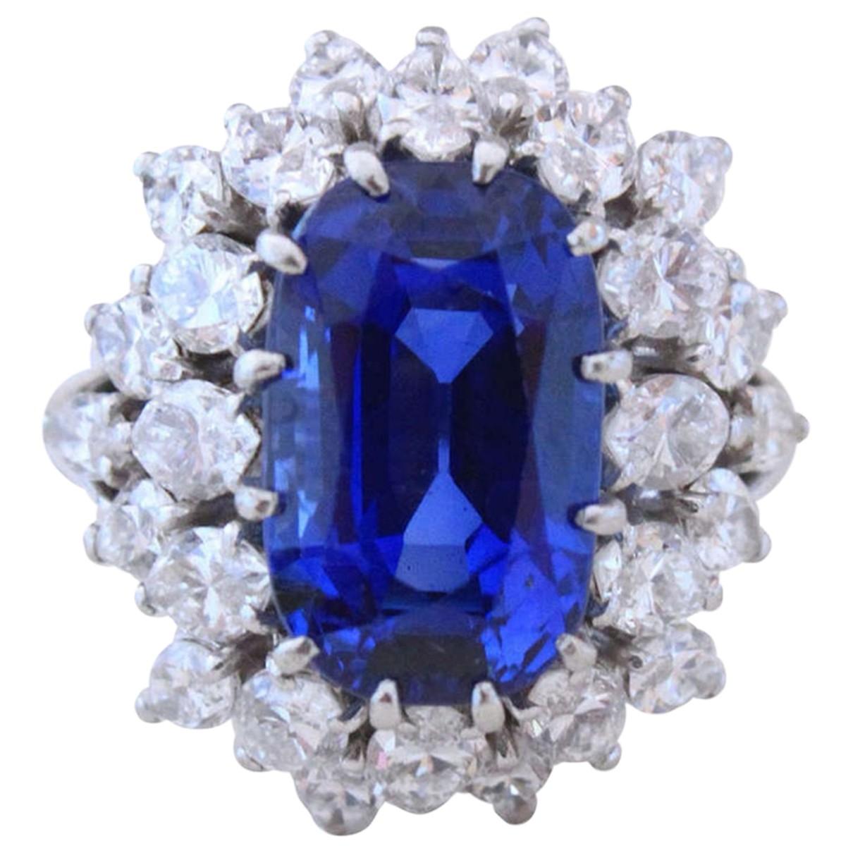 Boucheron - Bague   pour femme en platine - bleu