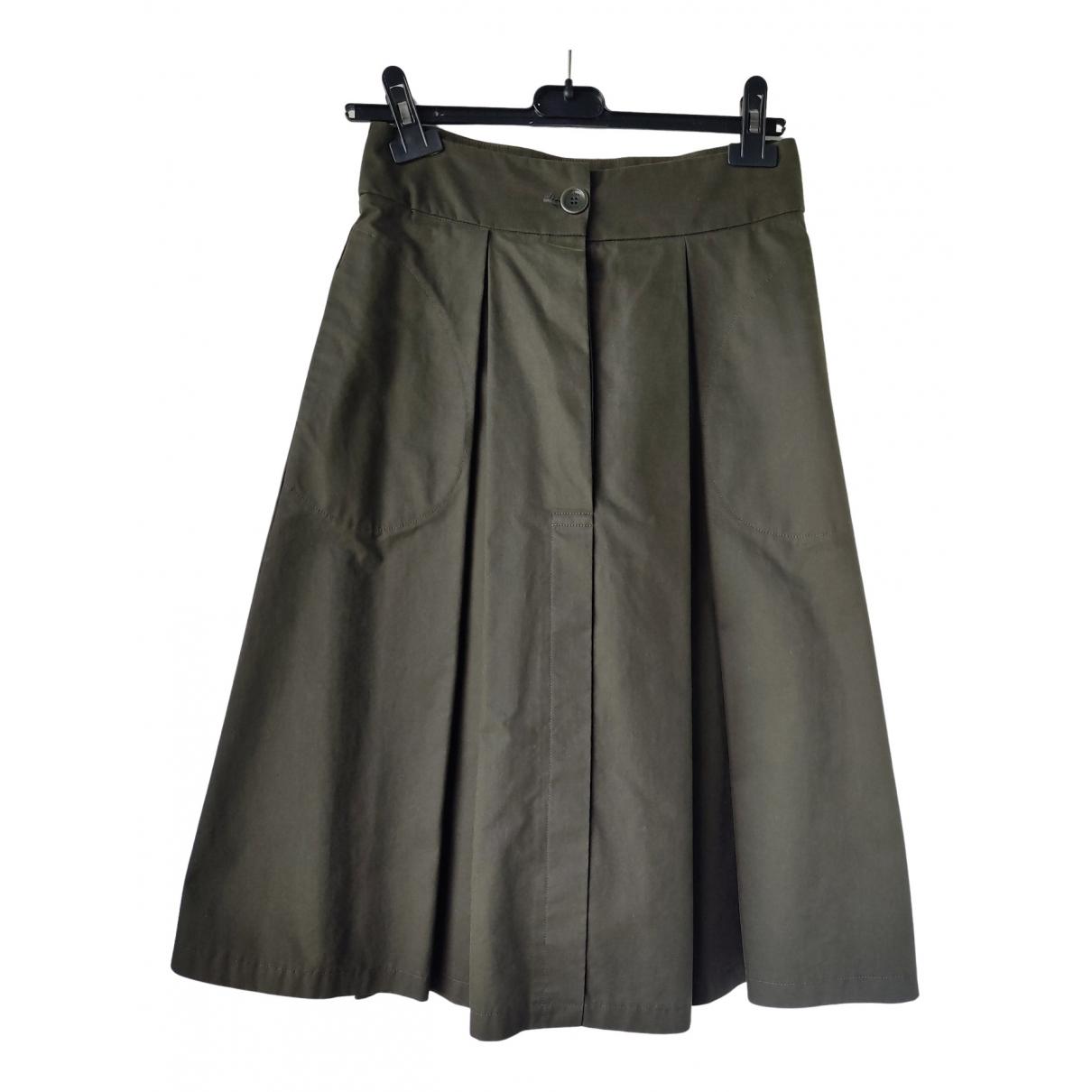Seventy - Jupe   pour femme en coton - vert