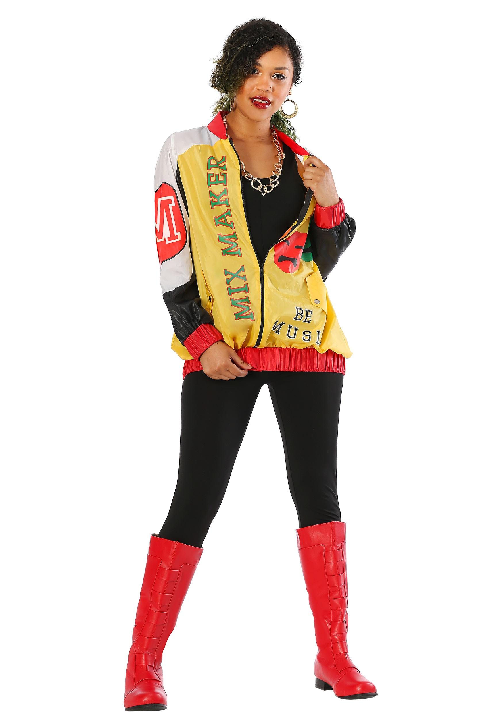 Women's Push It Pop Star Costume | 80s Hip Hop Costume