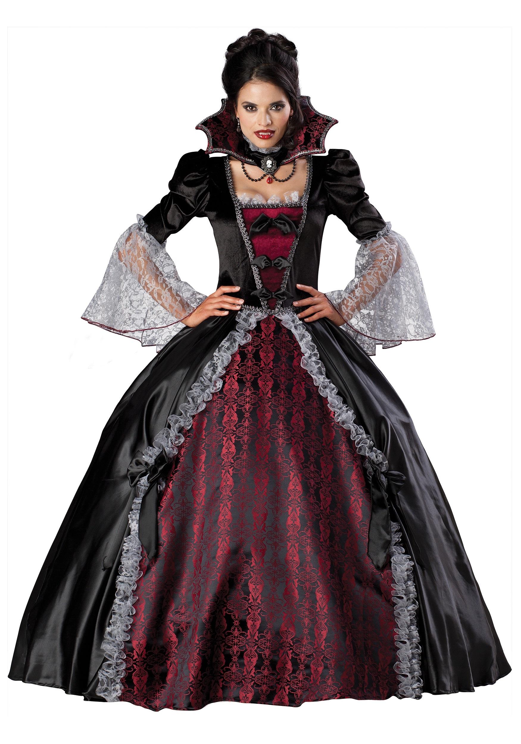 Adult Versailles Vampiress Costume